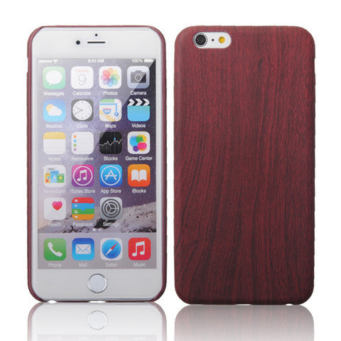 iPhone6 4.7 inch Wooden Pattern Mobile Phone Cover - CELLRIZON