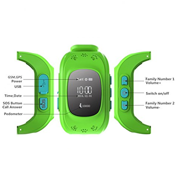 Kids Safety GPS Tracker Smartwatch - CELLRIZON  - 5
