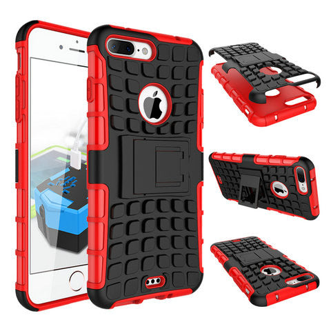 ANTI-SHOCK ARMOR HYBRID ARMOR STAND CASE FOR IPHONE 7 or IPHONE 7 PLUS' - CELLRIZON  - 6