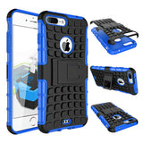ANTI-SHOCK ARMOR HYBRID ARMOR STAND CASE FOR IPHONE 7 or IPHONE 7 PLUS' - CELLRIZON  - 3