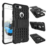 ANTI-SHOCK ARMOR HYBRID ARMOR STAND CASE FOR IPHONE 7 or IPHONE 7 PLUS' - CELLRIZON  - 2