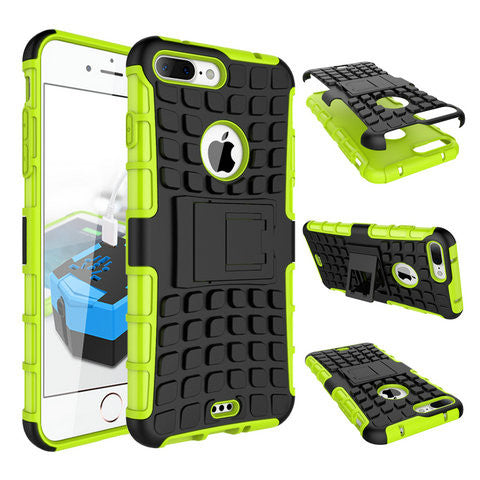 ANTI-SHOCK ARMOR HYBRID ARMOR STAND CASE FOR IPHONE 7 or IPHONE 7 PLUS' - CELLRIZON  - 9