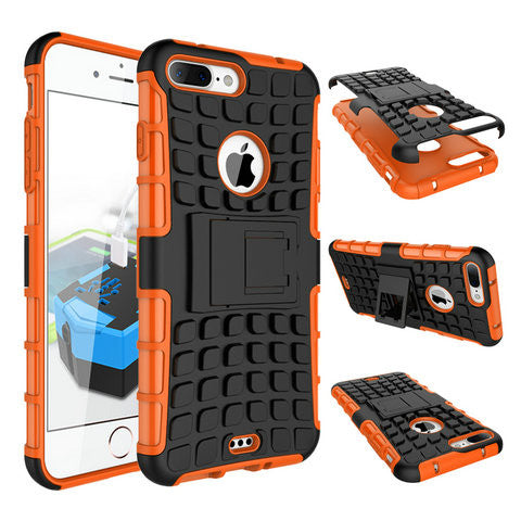 ANTI-SHOCK ARMOR HYBRID ARMOR STAND CASE FOR IPHONE 7 or IPHONE 7 PLUS' - CELLRIZON  - 8