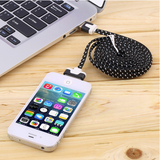 Multi type ChargeSync Braided Cable for iPhone and iPad - CELLRIZON  - 5