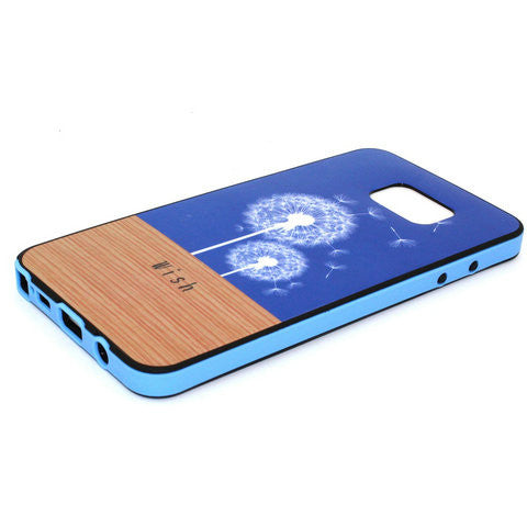 Blue Dandelion Phone Case Plus Border For Samsung Galaxy Note 5 - CELLRIZON