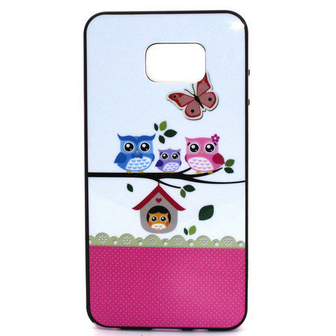 Four Owls Phone Case Plus Border For Samsung Galaxy Note 5 - CELLRIZON