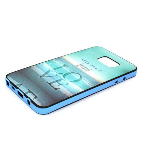 Deep Sea Phone Case Plus Border For Samsung Galaxy Note 5 - CELLRIZON