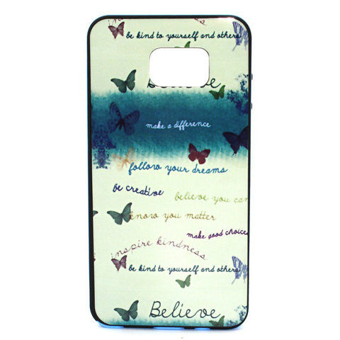 Butterflies Flying Phone Case Plus Border For Samsung Galaxy Note 5 - CELLRIZON