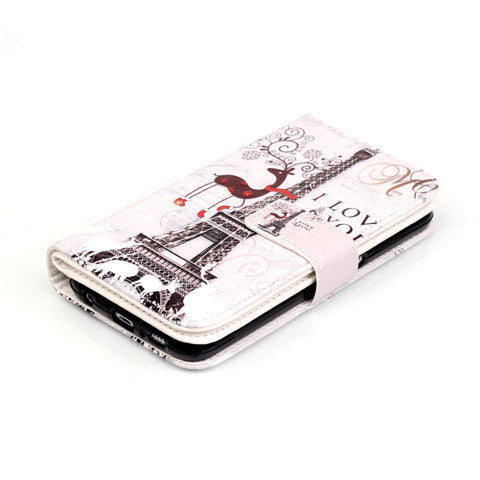 9 Cards Giraffe Eiffel Tower Standard Case for Samsung S5/S6/S6 edge - CELLRIZON  - 6