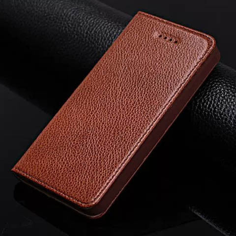 Lychee Leather casual Case For Iphone 5s - CELLRIZON
