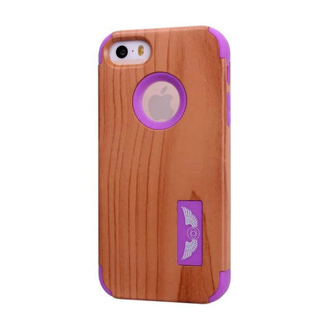 Robot Wood Shell Case For Iphone 6plus 5.5inch - CELLRIZON