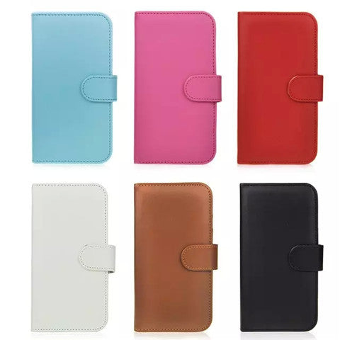 Wallet Stand Leather Case for Samsung S6 - CELLRIZON