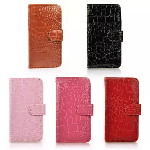 Crocodile Pattern Wallet Case for Samsung S6 - CELLRIZON