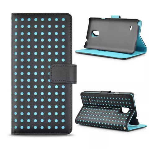 Polka Dots Leather Case for Samsung Note 4 - CELLRIZON