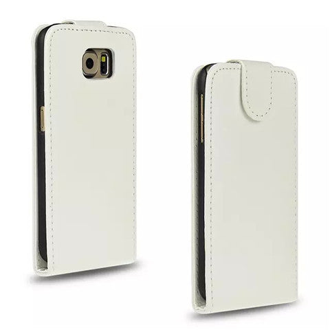 Flip imitation Leather Case for Samsung Galaxy S6 - CELLRIZON
