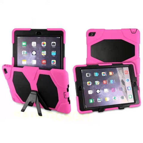 Silicone with PC Back Cover For ipad 6 - CELLRIZON