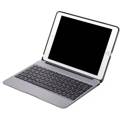 F06 (X6) Full Metal Bluetooth Keyboard With Cover For ipad Air2 - CELLRIZON