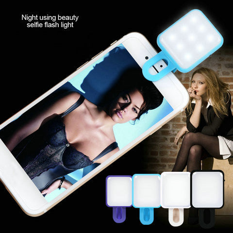 RK10 Neight Using Selfie Beauty Flash Light - CELLRIZON