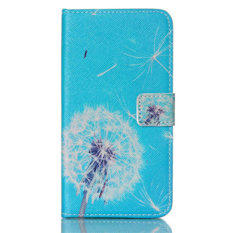 Dandelion Stand imitation Leather Case for Samsung S5 - CELLRIZON