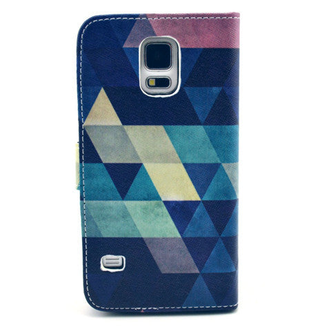 Dream of diamond Stand imitation Leather Case For Samsung S5 - CELLRIZON