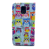 Blue Cats Stand Imitation Leather Case for Samsung S5 - CELLRIZON