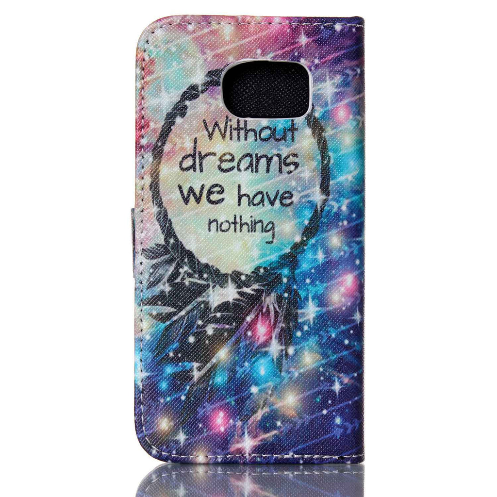 Dream Stand imitation Leather Case For Samsung S6/ S6 Edge - CELLRIZON