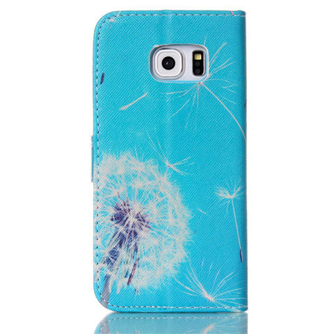 Dandelion Stand imitation Leather Case for Samsung Note 4 - CELLRIZON