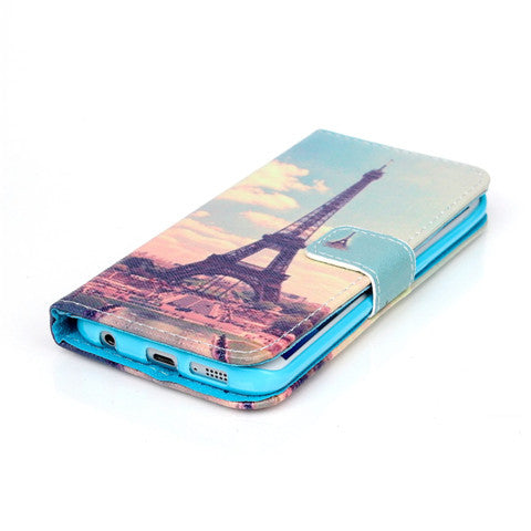 The Eiffel Tower Stand Leather Case For Samsung S6 Edge - CELLRIZON