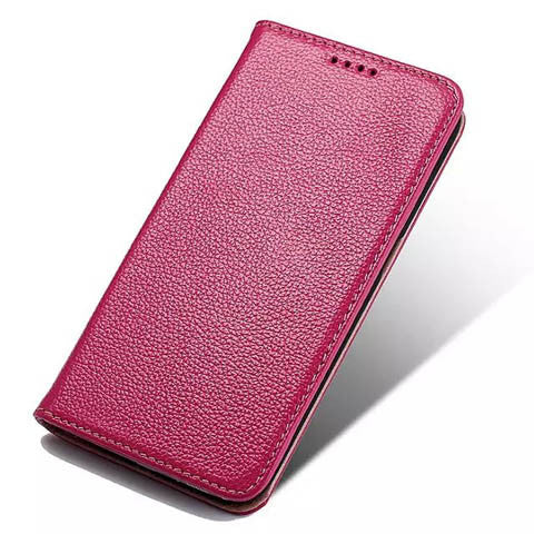Lychee Casual Leather For Samsung Galaxy S6 edge - CELLRIZON