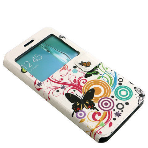 Colorful four butterfly TPU Case For Samsung Galaxy S6 edge plus - CELLRIZON