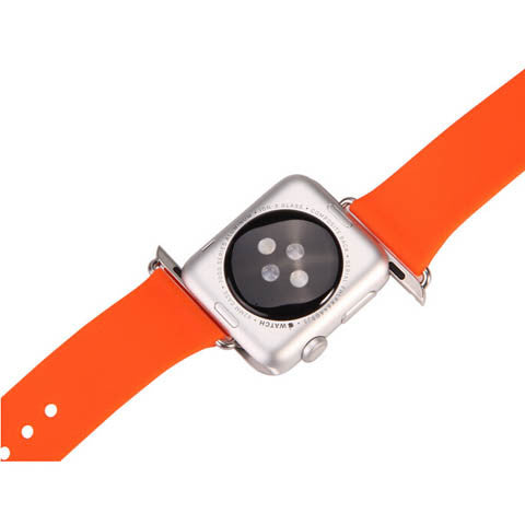 42mm Silicone Strap Band With Adapter for Apple Watch - CELLRIZON
