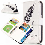 9 Cards Feathers Wallet Standard Case for Samsung S5/S6/S6 edge - CELLRIZON  - 4