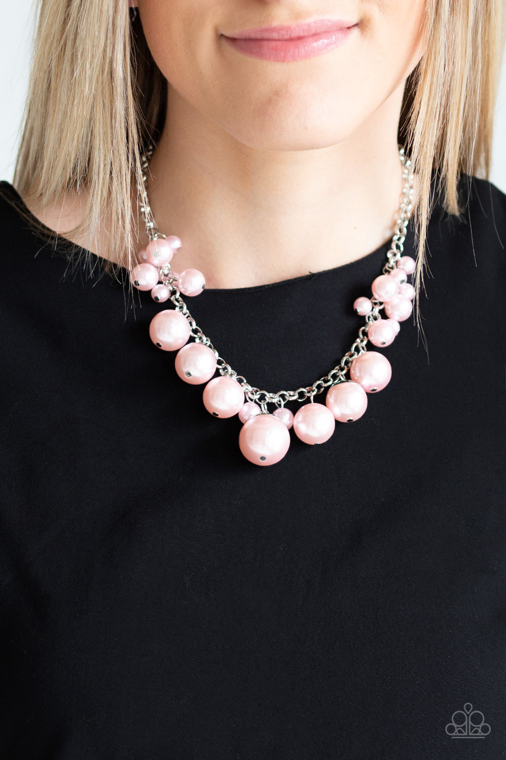 Broadway Belle - Pink Necklace