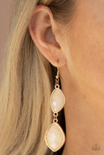 Load image into Gallery viewer, The Oracle Has Spoken - Gold Earrings