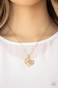 Mom Moments - Gold Necklace