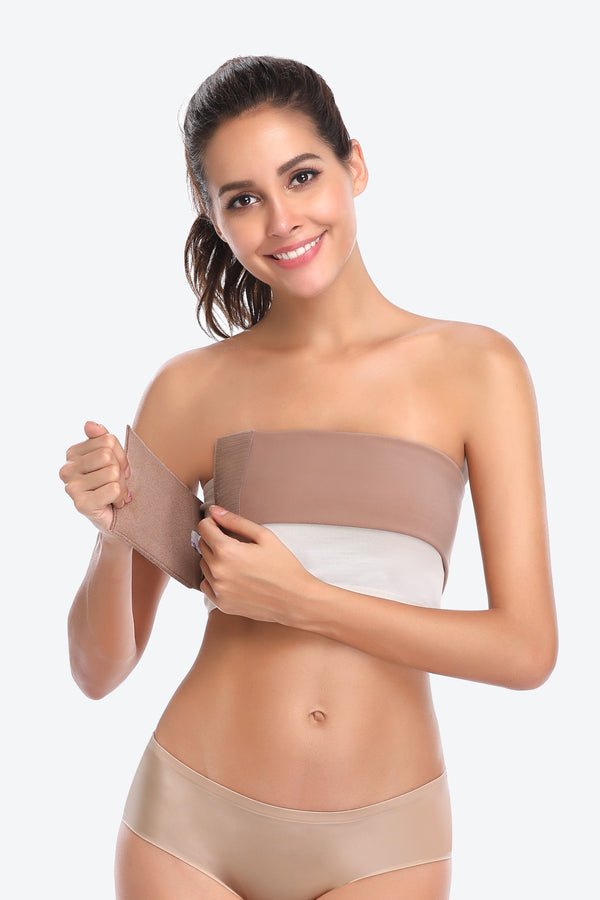 Post-Surgery Breast and Chest Binder Elastic Compression Wrap Belt