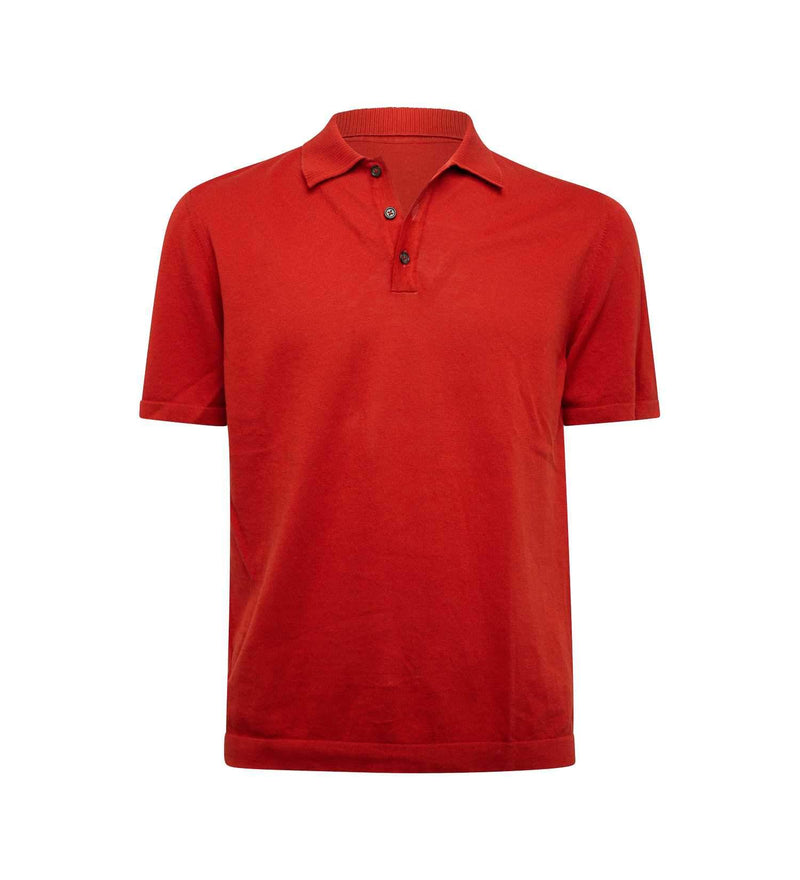 BOLOGNA BRICK POLO SHIRT (MEN)
