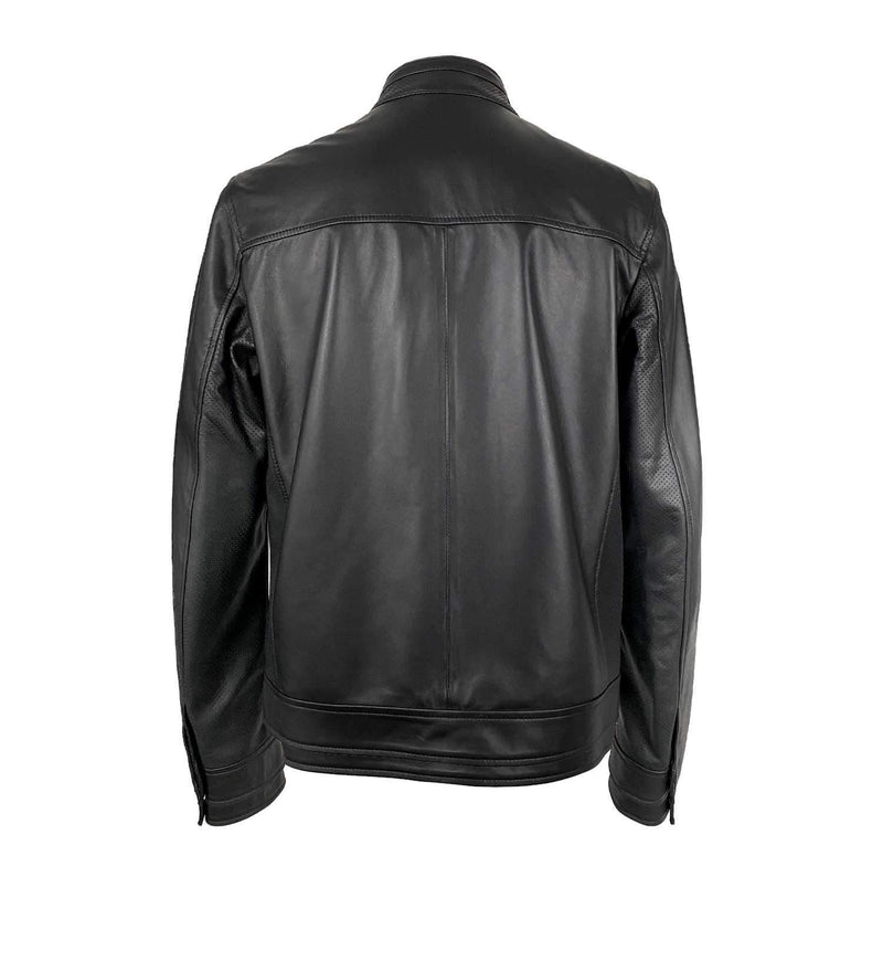 PERFORATED NAPPA LEATHER JACKET (MEN)