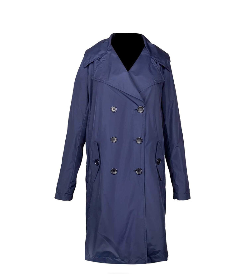 NAVY BLUE TRENCH COAT (WOMEN)