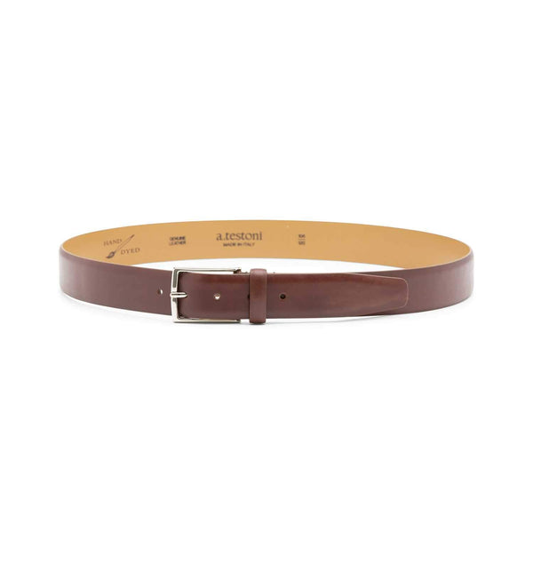 ANTIQUED LEATHER BELT (MEN)
