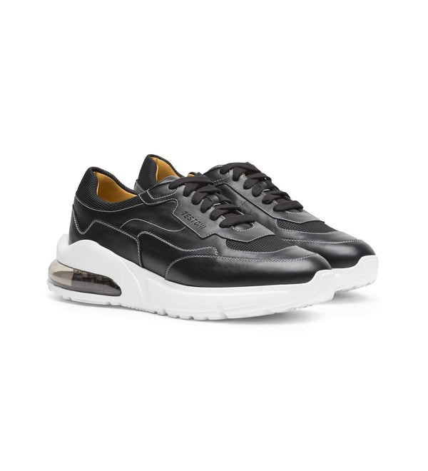 VOLTERRA LEATHER CHUNKY SNEAKERS (MEN)
