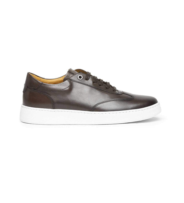 NOLA ANTIQUED LEATHER SNEAKERS (MEN)