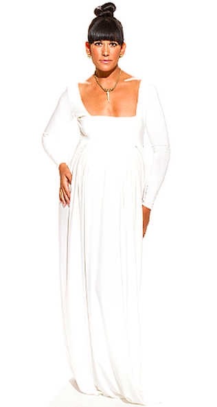 THE GRECIAN GODDESS MATERNITY DRESS