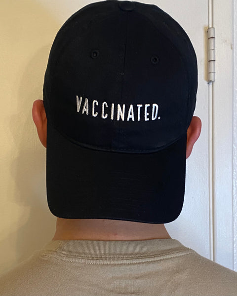 VACCINATED. Collection Dad Hat / Adjustable Baseball Cap