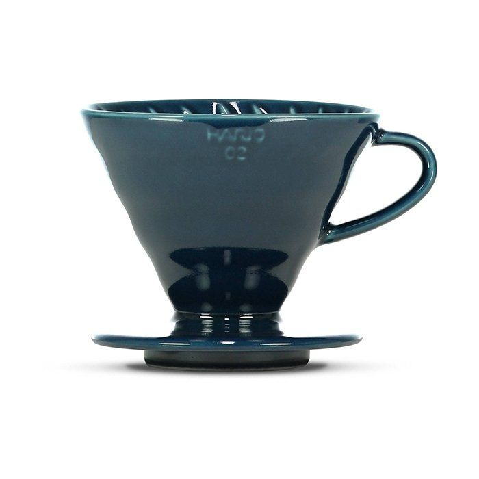 V60 Ceramic Dripper - Indigo Blue