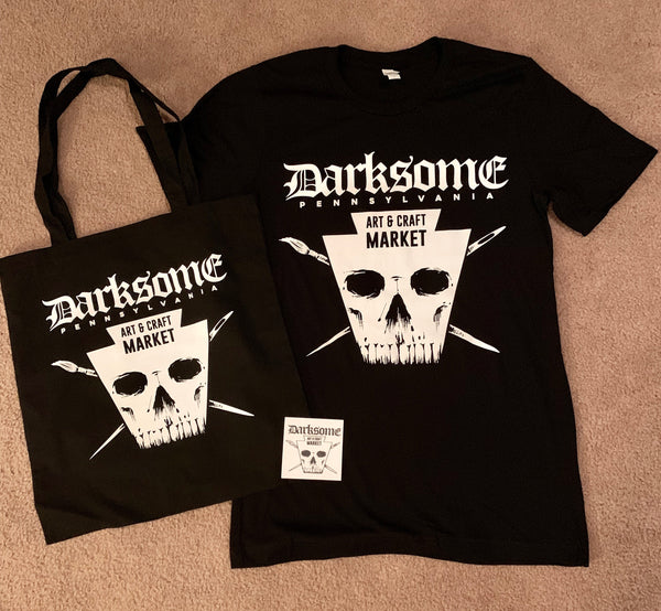 Darksome Art & Craft Market Unisex Tshirt