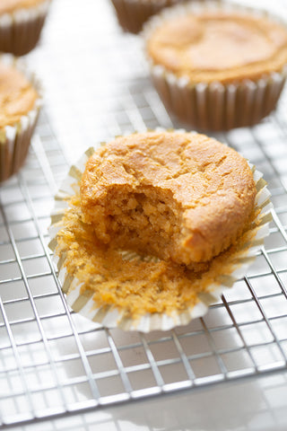 AIP muffin with bite taken