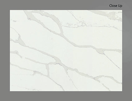 AQ CALACATTA EXTRA QUARTZ POLISHED 3/4