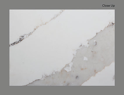 AQ CALACATTA TRASLUX QUARTZ POLISHED 3/4