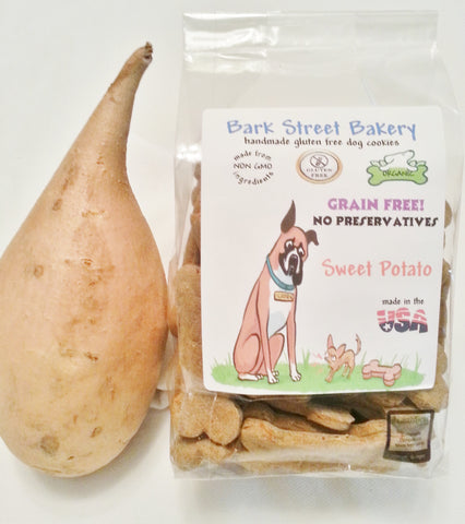 We now have GRAIN FREE Sweet potato!